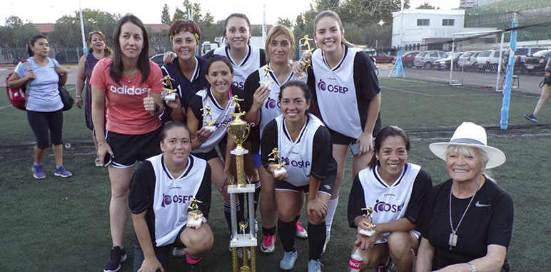 """OSEP Central Campeón del Torneo de Fútbol """"Margarita Ayala"""""""