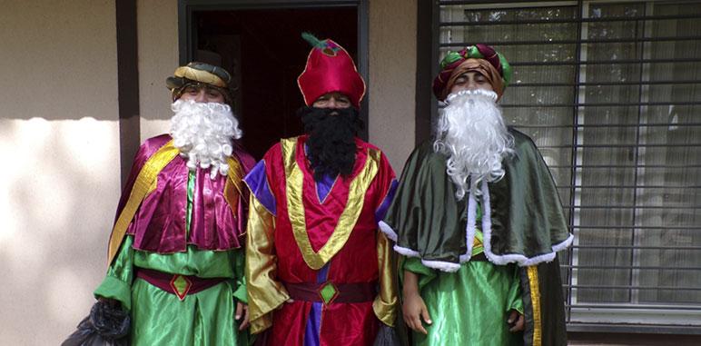 Los Reyes Magos visitaron el Camping de ATSA Mendoza