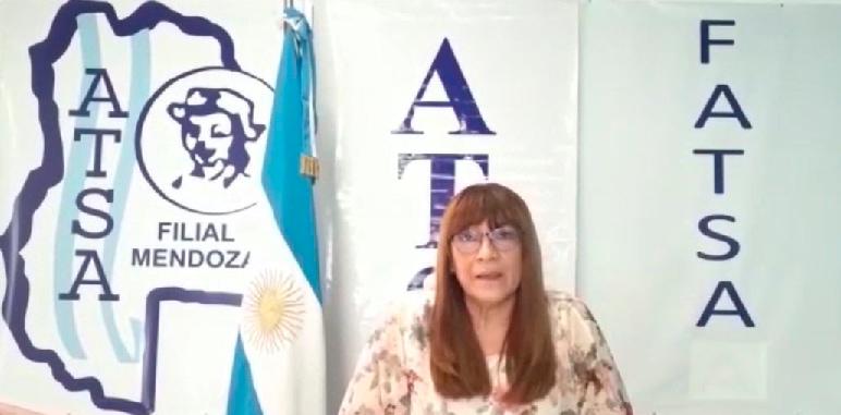 Salutación de la Sec. Gral, Lic. Patricia Irrutia, a los trabajadores por el Día de la Sanidad