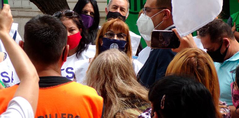 Hospital Gailhac: ATSA se manifestó en la Legislatura Provincial