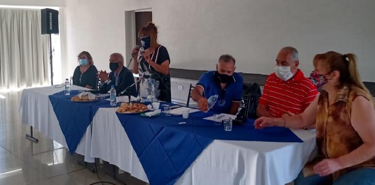 Congreso en el Centro Cultural de ATSA de El Challao