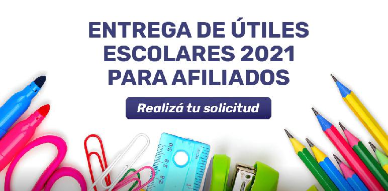 Útiles Escolares Ciclo Lectivo 2021